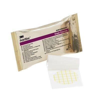 6490 3M Petrifilm Staph Express Count Plates Box of 50