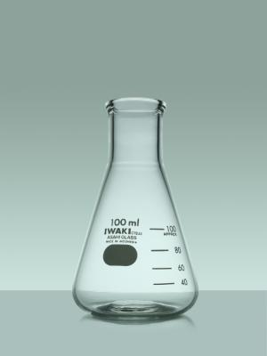 Iwaki 4980FK50 Erlenmeyer Flask 50 ml
