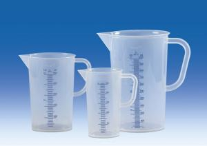 Vitlab 445081 Graduated beakers PP Vol 5000 ml