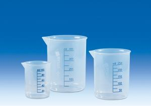 Vitlab 607081 Griffin beakers PP Vol 50 ml