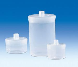 Vitlab 80347 Weighing jars PP 200 ml