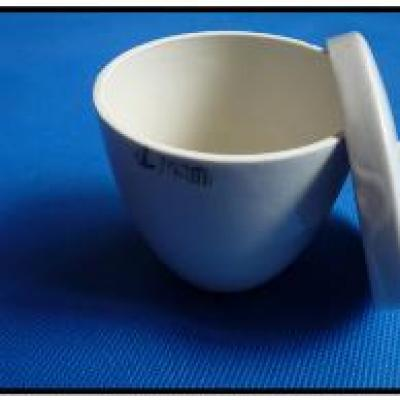WHI-20153 SCRC Crucible with lid Porcelain 40 ml