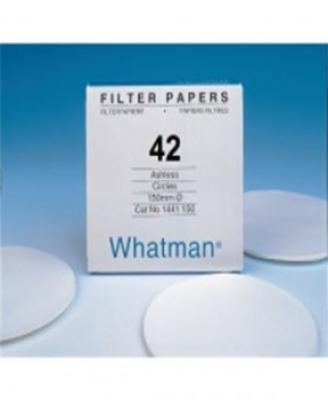 Whatman 1442-110 Grade 42 Circles, 110mm 100/pk