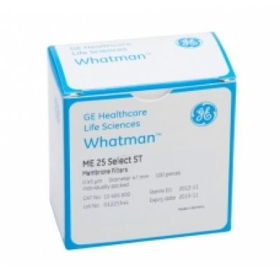 Whatman 7184-002 Membrane Circles, Cellulose Nitrate, White Plain, 0.45µm 25mm 100/pk