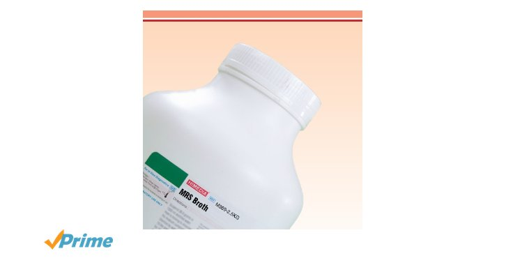 Himedia M369-500G Lactobacillus MRS Broth (MRS Broth)