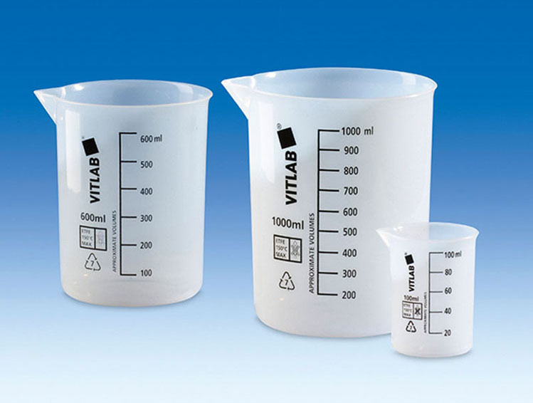 Vitlab 110704 Griffin beakers PTFE Vol 500 ml
