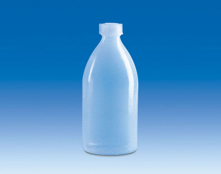 Vitlab 138693 Narrow-mouth bottles PE-LD Vol 500 ml