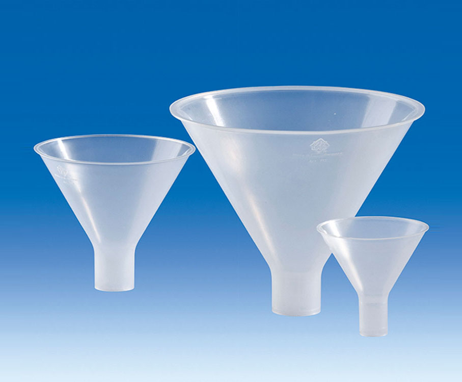 Vitlab 70794 Powder funnels, PP dia 25 mm