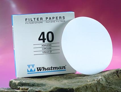 Whatman 1440-070 Grade 40 Circles, 70mm 100/pk