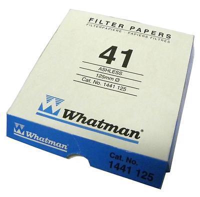 Whatman 1441-110 Grade 41 Circles, 110mm 100/pk